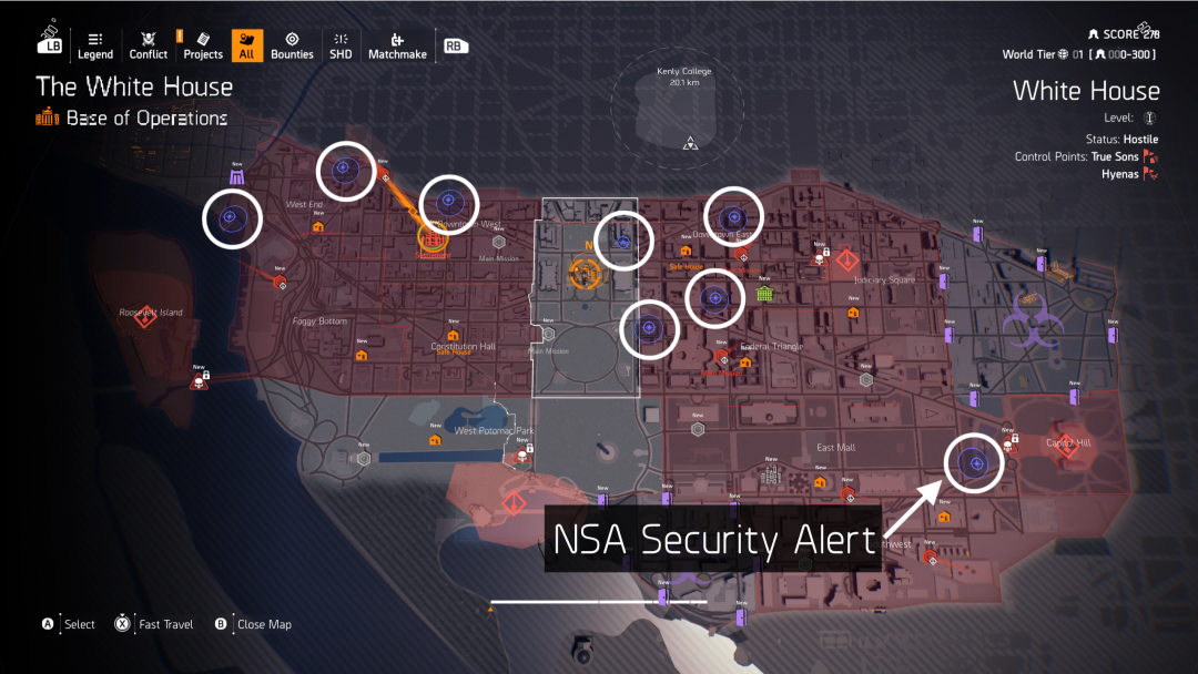 Tom Clancy's The Division 2 - NSA Security Alert