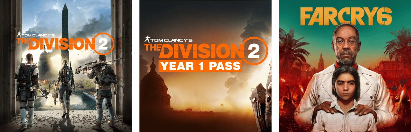 Tom Clancy's The Division 2 The Division 2 Year 1 Pass Far Cry 6